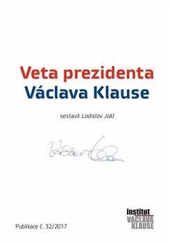Obálka titulu Veta prezidenta Václava Klause