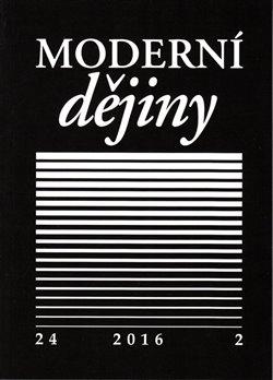 Obálka titulu Moderní dějiny 24/2 2016