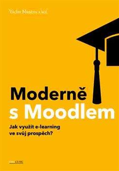 Obálka titulu Moderně s Moodlem