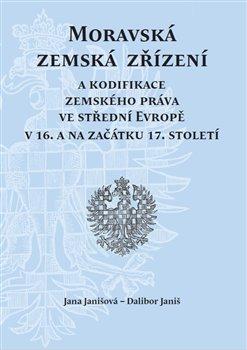 Obálka titulu Moravská zemská zřízení