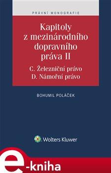 Obálka titulu Kapitoly z mezinárodního dopravního práva II