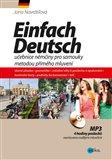 Einfach Deutsch (učebnice němčiny pro samouky metodou přímého mluvení) - obálka