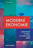 Moderní ekonomie - obálka