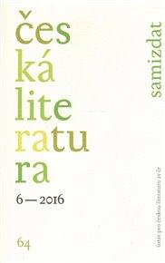 Česká literatura 6/2016