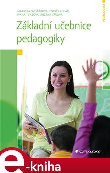 Obálka titulu Základní učebnice pedagogiky