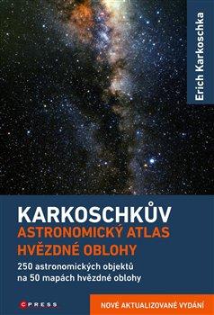 Obálka titulu Karkoschkův astronomický atlas hvězdné oblohy