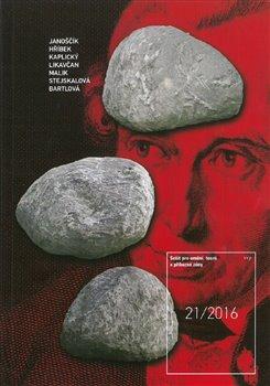 Obálka titulu Sešit pro umění, teorii a příbuzné zóny č. 21/2016