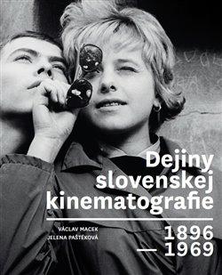 Obálka titulu Dejiny slovenskej kinematografie