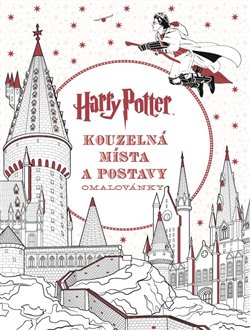 Obálka titulu Harry Potter: Kouzelná místa a postavy