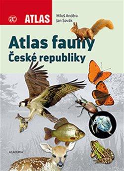 Obálka titulu Atlas fauny České republiky