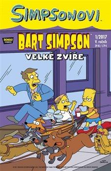 Obálka titulu Bart Simpson 1/2017 - Velké zvíře
