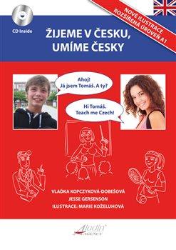Obálka titulu Žijeme v česku, umíme česky - AJ verze