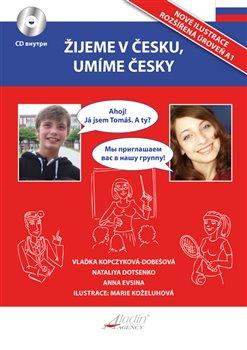 Obálka titulu Žijeme v česku, umíme česky - RU verze