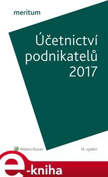 Obálka titulu Účetnictví podnikatelů 2017