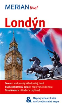 Obálka titulu Londýn - Merian Live!