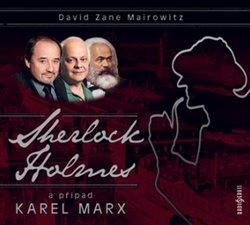 Obálka titulu Sherlock Holmes a případ Karel Marx