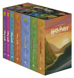Obálka titulu Harry Potter box 1-7