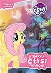 Obálka knihy My Little Pony - Vybarvuj, čti si, nalepuj