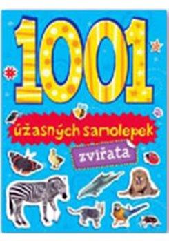1001 úžasných samolepek - Zvířata