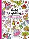 Obálka knihy Hledej a vybarvuj - Pohádkové postavičky