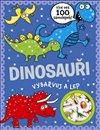 Obálka knihy Dinosauři - vybarvuj a lep