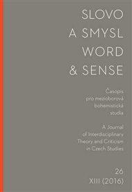 Slovo a smysl 26 / Word & Sense 26