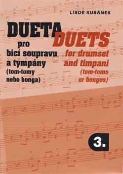 Obálka titulu Dueta pro bicí soupravu a tympány / Duets for drumset 3