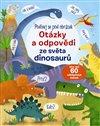 Obálka knihy Otázky a odpovědi ze světa dinosaurů