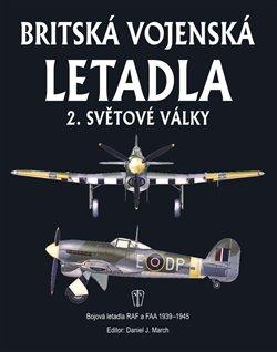 Obálka titulu Britská vojenská letadla 2. světové války