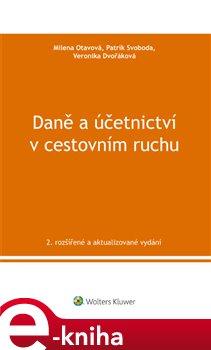 Obálka titulu Daně a účetnictví v cestovním ruchu