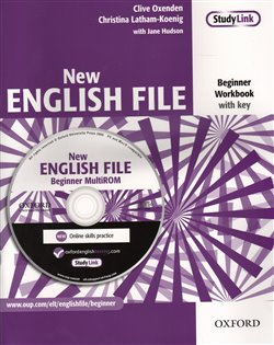 Obálka titulu New English File Beginner Workbook with key + CD-ROM