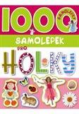 Obálka knihy 1000 samolepek pro holky