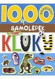 Obálka knihy 1000 samolepek pro kluky
