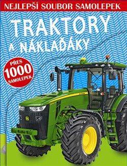 Obálka titulu Traktory a náklaďáky - Nejlepší soubor samolepek