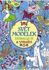 Obálka knihy Svět modelek – Domaluj si a vybarvi