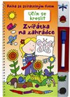 Obálka knihy Učím se kreslit - Zvířátka na zahrádce + fix