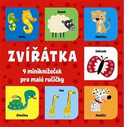Obálka titulu Zvířátka - 9 miniknížeček pro malé ručičky