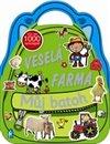 Obálka knihy Veselá farma - kniha aktivit se samolepkami