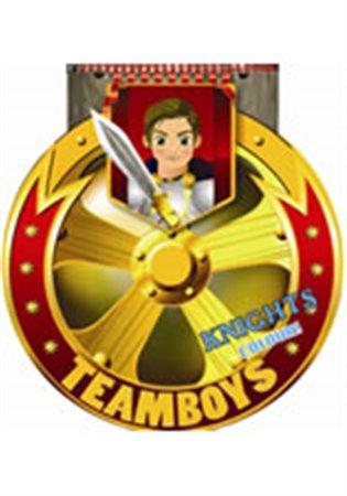 TEAMBOYS Knights Colour! – štít - - | Booksquad.ink