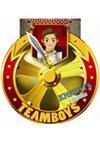 Obálka knihy TEAMBOYS Knights Colour! – štít
