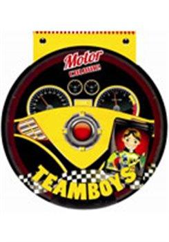 Obálka titulu TEAMBOYS Motor Colour! – volant