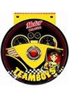 Obálka knihy TEAMBOYS Motor Colour! – volant