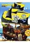 Obálka knihy TEAMBOYS Pirates ship