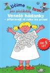 Obálka knihy Veselé hádanky - připravuji si ruku na psaní