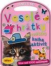 Obálka knihy Veselé hrátky se zvířátky – kniha aktivit