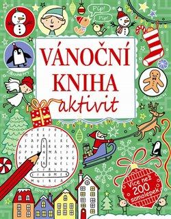 Obálka titulu Vánoční kniha aktivit - více než 200 samolepe