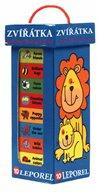 Obálka knihy Zvířátka – Moje první knihovnička - 10 leporel