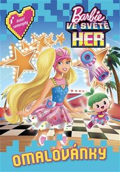 Obálka titulu Barbie ve světě her Omalovánky