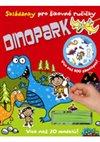 Obálka knihy Dinopark - Skládanky pro šikovné ručičky
