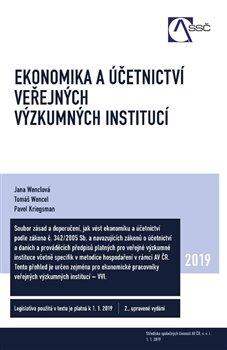 Obálka titulu Ekonomika a účetnictví veřejných výzkumných institucí